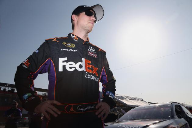 Denny Hamlin Update: NASCAR Driver's Status After Big Crash