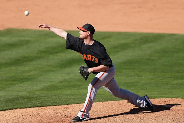 Giants Put RHP Gaudin on Major League Roster