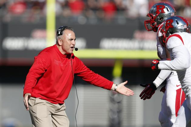 Kyle Flood Management of Rutgers QBs a Test of Readiness for Big 10 Conference