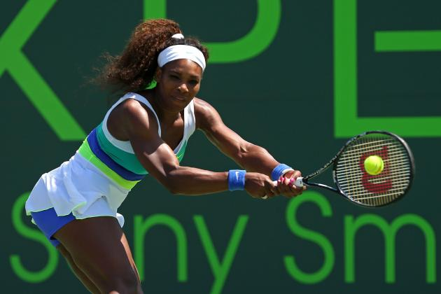 Serena Williams Defeats Li Na to Advance at 2013 Sony Open