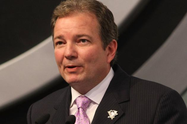 Penguins GM Ray Shero Sets the NHL Trade Market