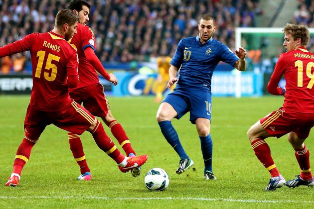 France vs. Spain: World Cup Qualifying Live Score, Highlights, Recap