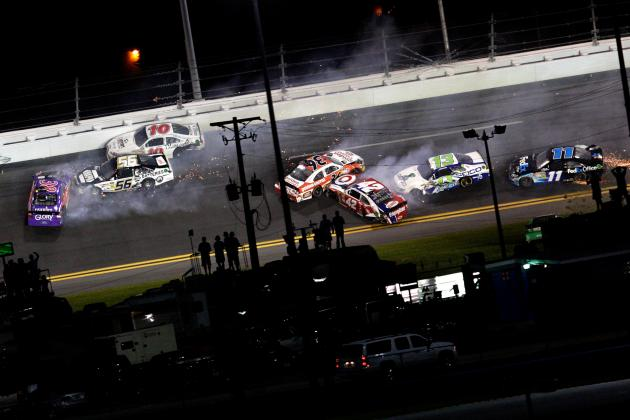 Hamlin's Crash Renews Calls for More SAFER Barriers