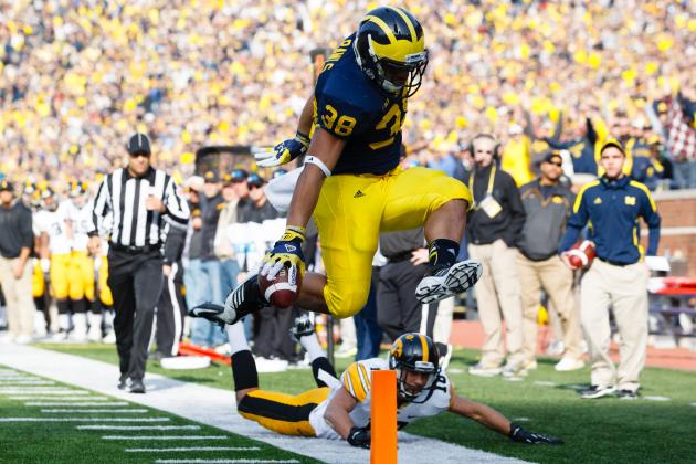 Michigan Football: Why RB Will Be Wolverines' Most Competitive Position in 2013