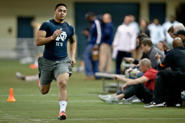 Updated NFL Draft Stock Watch for Manti Te'o Following Notre Dame's Pro Day