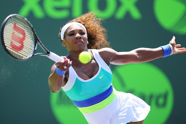 Serena Into Semifinals, Ties Record