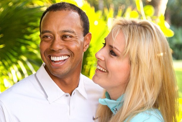 Lindsey Vonn Relishing New Role as Tiger Woods' Good Luck Charm