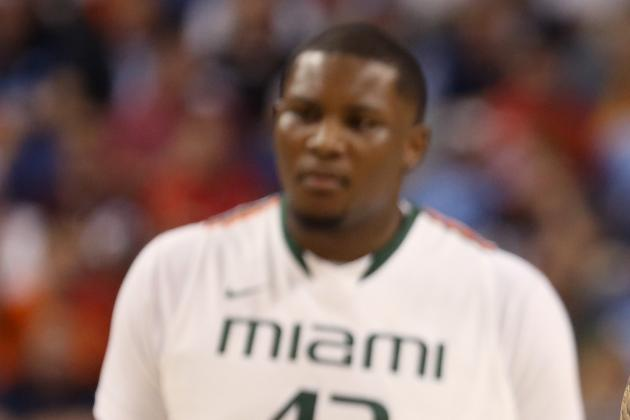 Canes Head to DC, Sweet 16 Without Reggie Johnson