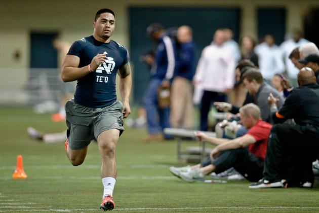 Notre Dame Pro Day: Manti Te'o's 40 Time Should Not Affect 2013 NFL Draft Stock