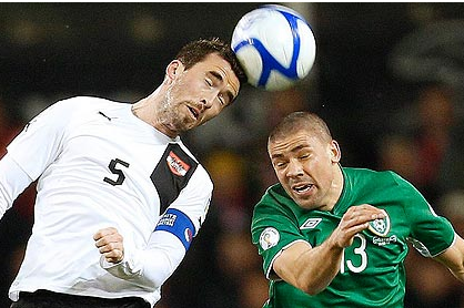 Last-Gasp Austria Deal Blow to Edgy Ireland's World Cup Hopes
