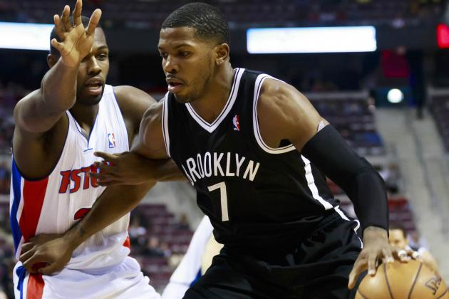 Nets' Johnson May Sit Wednesday with Quad Contusion