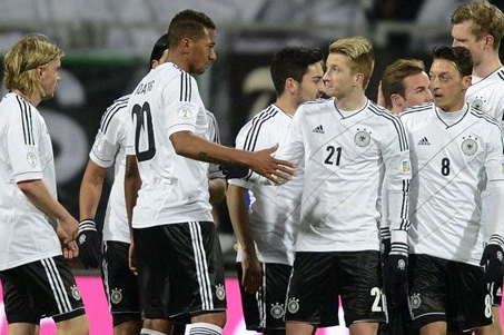Four-Star Germany Cruise Past Kazakhstan