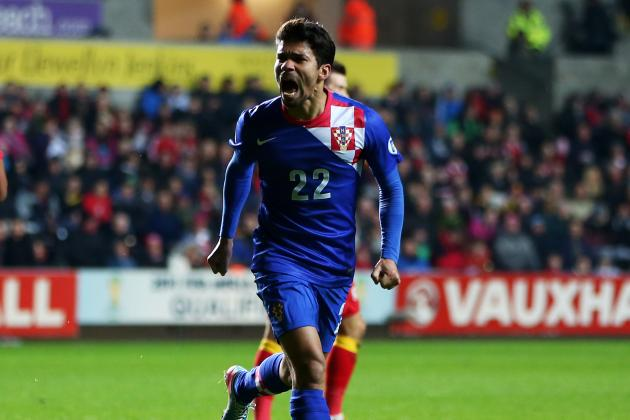 Eduardo's Late Effort Hands Croatia Victory to Crush Wales Hopes