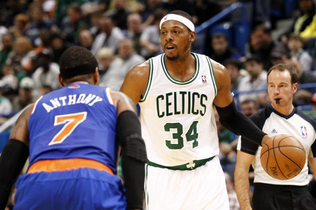 NBA Gamecast: Knicks vs. Celtics