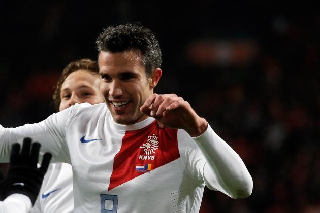 RVP Moves Past Cruyff for Netherlands Goals After Strikes Against Romania