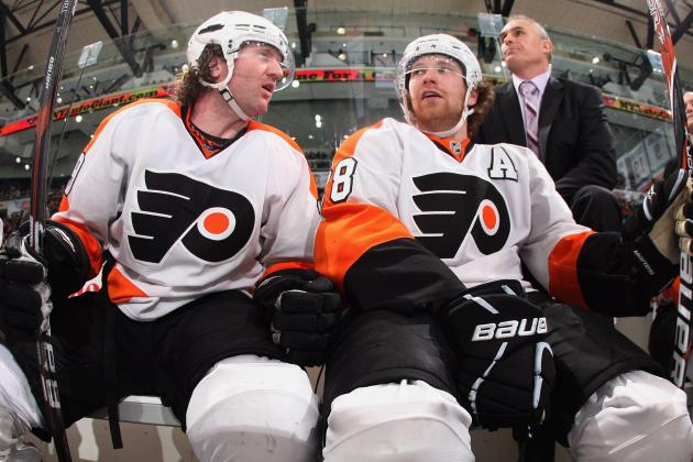 Looking at the Slumps of Flyers Stars Scott Hartnell and Claude Giroux