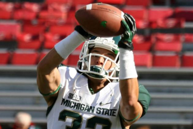 Michigan State Football Notes: Nick Hill 'Confident' Running in First-Team