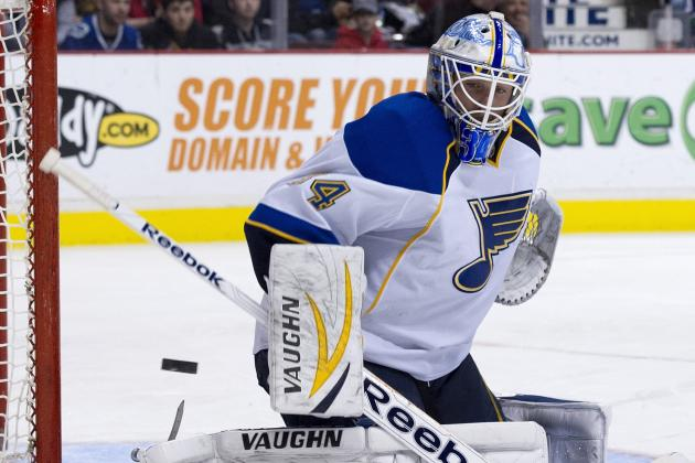 Halak Replaces Allen in Net vs. Oilers