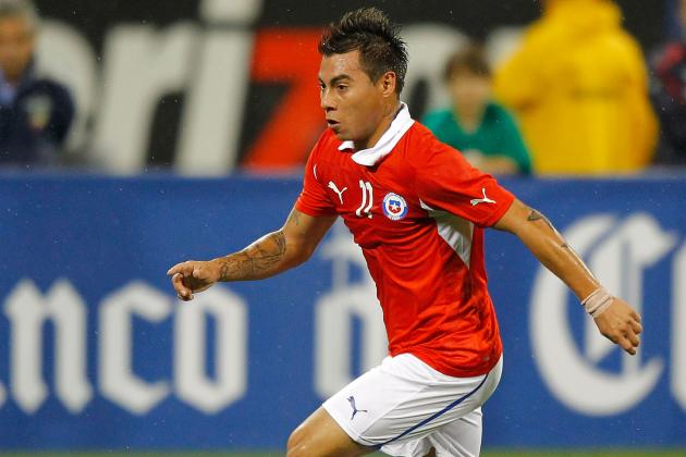 Chile Downs Uruguay 2-0 in WCup Qualifying