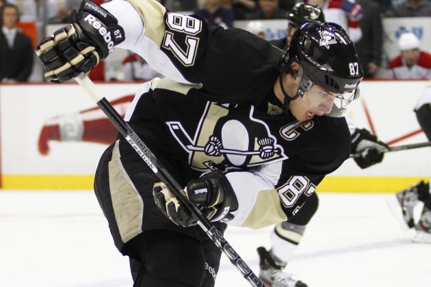 Pens Win 13th Straight; Crosby Scores Lone Goal