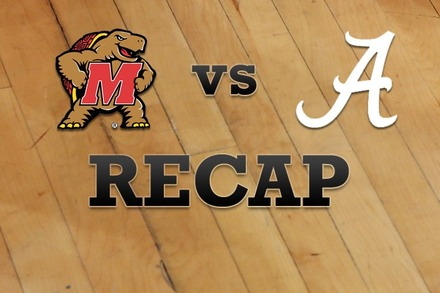 Maryland vs. Alabama: Recap, Stats, and Box Score