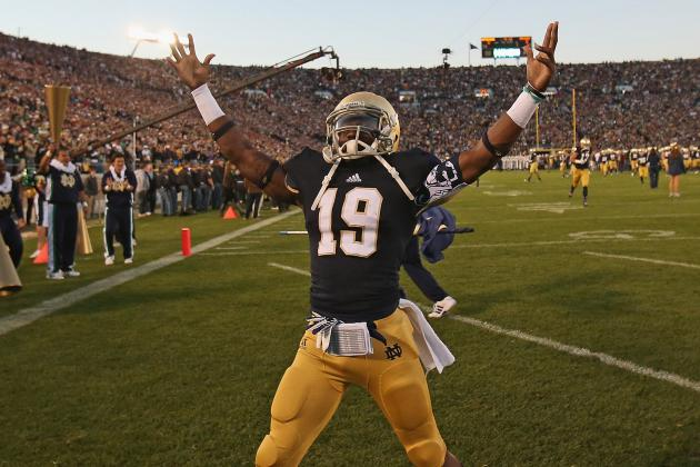 WR Davonte' Neal set to transfer from Notre Dame