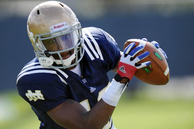 Report: Notre Dame WR Davonte Neal to Transfer