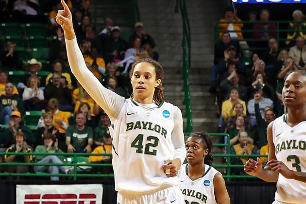 Brittney Griner Explodes for 33 Points, 22 Rebounds in Final Home Game at Baylor