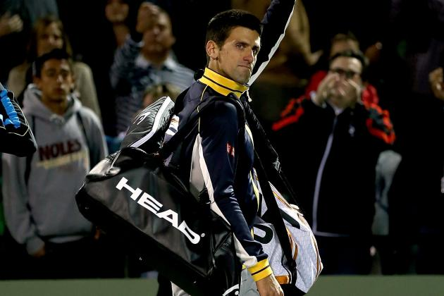 Djokovic Upset by Tommy Haas at Key Biscayne