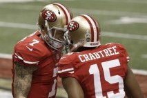Crabtree: Kaepernick 'Trusted Me More'