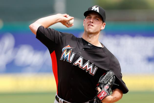 Marlins Cut Starting Pitcher Jacob Turner, Six Others from Big League Camp
