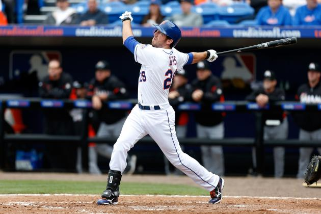 David Wright, Ike Davis Key New York Mets' Starting Lineup After Spring Training