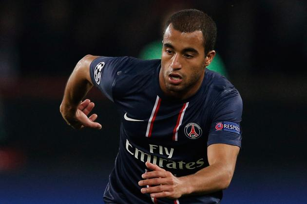 PSG's Lucas Moura Relishing Barça Clash