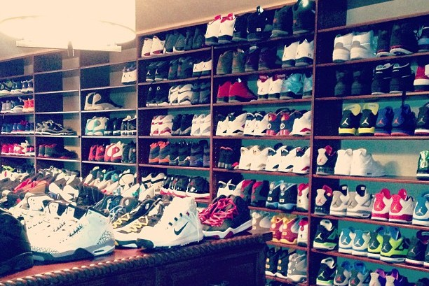 Chris Paul's Unbelievable Jordan Shoe Collection Will Make Sneakerheads Jealous