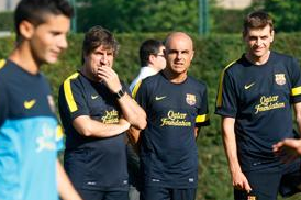 Vilanova at Training Today?