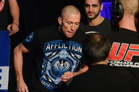 GSP Resumes Training Following UFC 158 Win over Nick Diaz