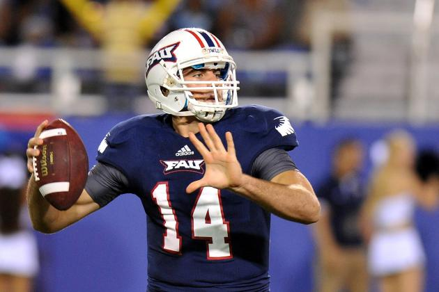 New York Jets Work out FAU QB Graham Wilbert