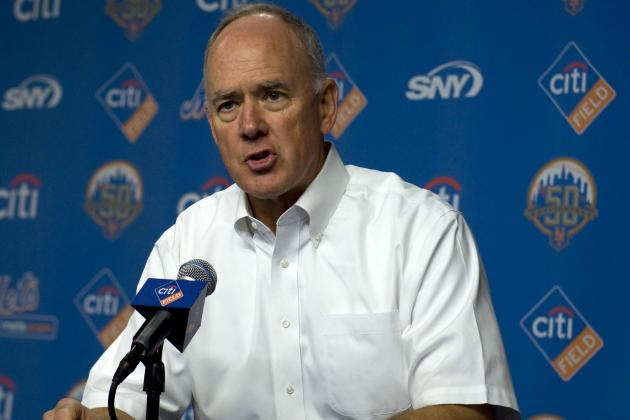 Alderson Sticking with His Vision for Mets