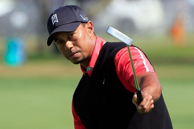 For Tiger Woods It's Actually the Putter That Takes Care of Everything