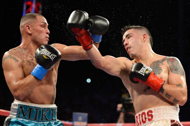 Brandon Rios vs. Mike Alvarado: Fight Time, Date, Live Stream, TV Info and More