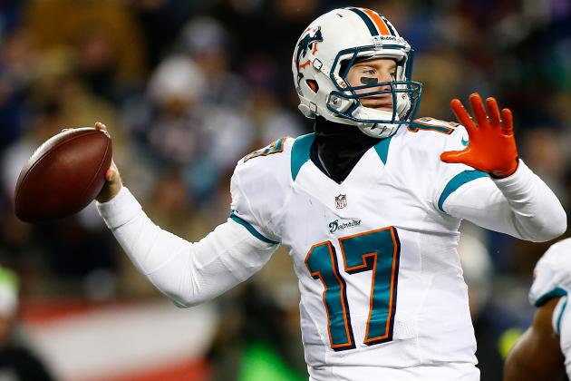 Tannehill Has the Attention of Newest Dolphins
