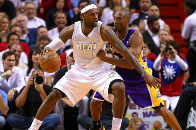 Comparing Kobe Bryant vs. LeBron James in the Clutch, by the Numbers