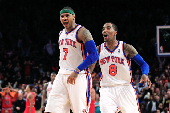 Carmelo Anthony, J.R. Smith Proving a Formidable 1-2 Punch