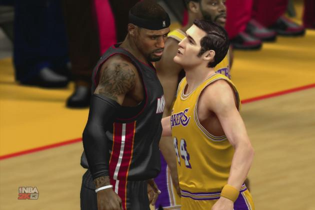 NBA 2K13 Simulation: 2012-13 Miami Heat vs. 1971-72 Los Angeles Lakers