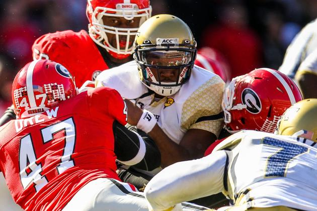 DE Drew 'Unblockable' in UGA's Scrimmage
