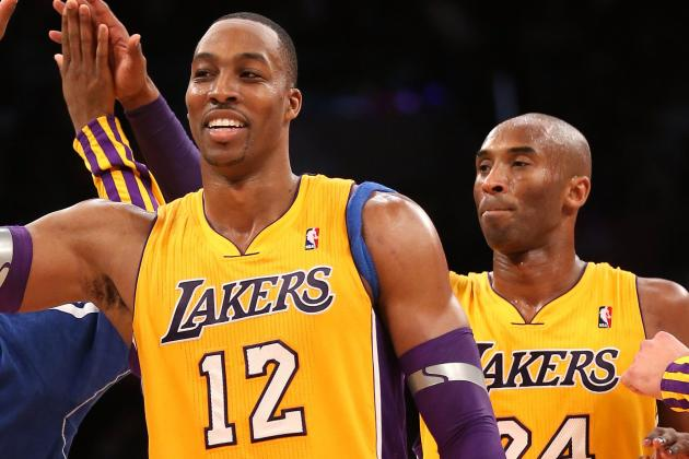 Kobe Bryant Wants Dwight Howard More Involved Offensively