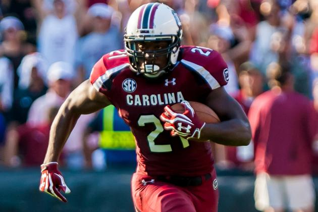 South Carolina Pro Day: Marcus Lattimore's Performance Won't Change Draft Status