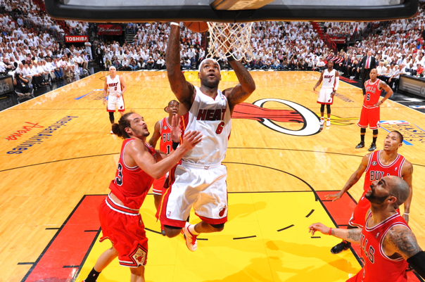 Timelines of the Chicago Bulls Fall and Miami Heat's Surge Since 2011