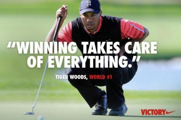 Nike's Tiger Woods Ad Proclaims 'Winning Takes Care of Everything,' World Freaks