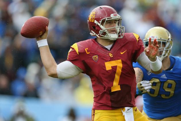 Matt Barkley Pro Day: Best-Case Scenarios to Improve USC QB's Draft Stock